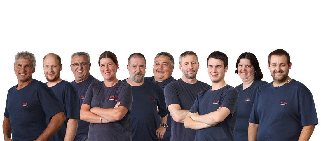 Mitarbeiter RUKU Sauna-Manufaktur