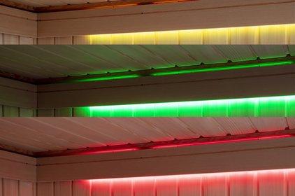 LED light is an option